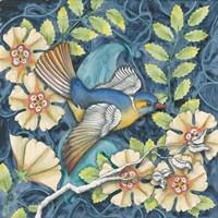 Arts and Crafts Bird III Fine-Art Print