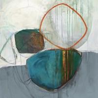 Circle Tower Turquoise Crop Fine-Art Print