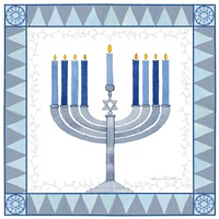 Celebrating Hanukkah III Fine-Art Print