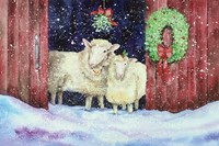 Christmas Sheep Fine-Art Print