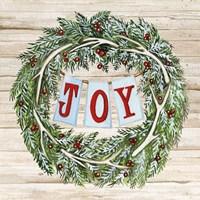 Holiday Sayings I on Wood Fine-Art Print