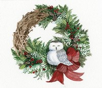 Holiday Wreath II Fine-Art Print
