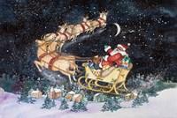 Santas Ride Fine-Art Print