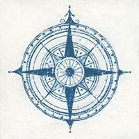 Indigo Gild Compass Rose II Fine-Art Print