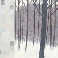 Winters End Flurries Fine-Art Print