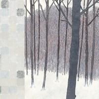 Winters End Flurries Fine-Art Print