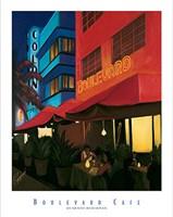 Boulevard Cafe Fine-Art Print