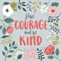 Wildflower Daydreams II Have Courage Fine-Art Print