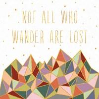 Written in the Stars IV on White Framed Print
