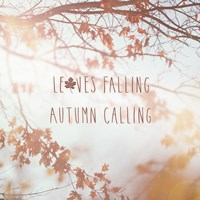 Autumn Calling I Fine-Art Print