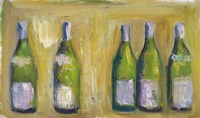 French Wine Bottles Fine-Art Print