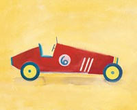 Race Car 6 Crop Fine-Art Print
