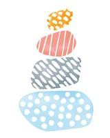River Stones II Bright Fine-Art Print