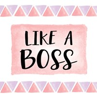 Like a Boss Fine-Art Print