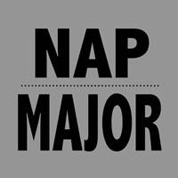 Nap Major - Gray Fine-Art Print