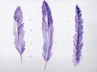 Lavender Feathers Fine-Art Print