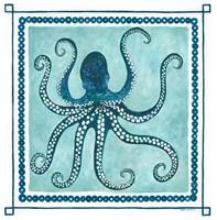 Octopus I Frame Fine-Art Print