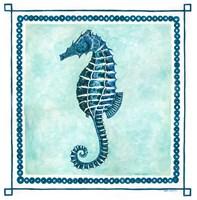 Seahorse Frame II Fine-Art Print