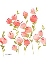 Peach Flowers Fine-Art Print