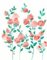 Peach and Mint Fine-Art Print