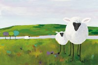 Sheep in the Meadow Fine-Art Print