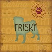 Frisky Dog Fine-Art Print