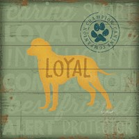 Loyal Dog Fine-Art Print