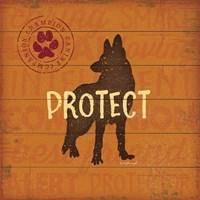 Protect Dog Fine-Art Print