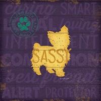 Sassy Dog Fine-Art Print