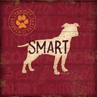 Smart Dog Fine-Art Print