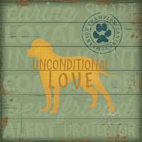 Unconditional Love Dog Fine-Art Print