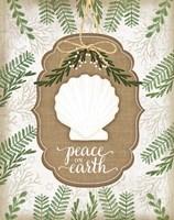 Coastal Christmas Peace Fine-Art Print