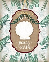Coastal Christmas III Fine-Art Print