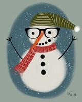 Hip Snowman Fine-Art Print