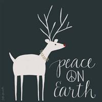 Peace on Earth Reindeer Fine-Art Print