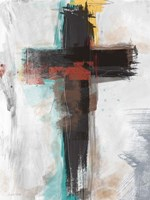 Contemporary Cross I Fine-Art Print