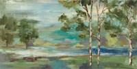Aspens by the Lake Fine-Art Print