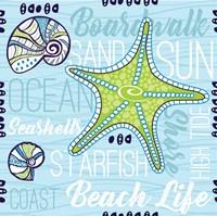 Boardwalk Typography Fine-Art Print