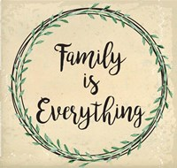 Family is Everything Fine-Art Print