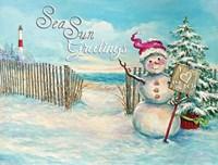 Sea Sun Greetings Fine-Art Print