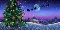 Santa's Sleigh Fine-Art Print