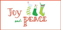 Joy and Peace Stockings Fine-Art Print