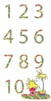 Camper Numbers Fine-Art Print