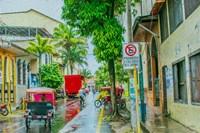 Rainy Street Iquitos Peru Fine-Art Print