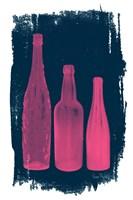 Pink on Navy Fine-Art Print