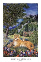 Colorado Mountain Lion Fine-Art Print