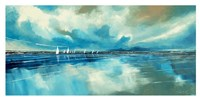 Blue Sky and Boats IV Fine-Art Print