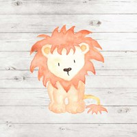 Watercolor Lion Fine-Art Print