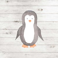 Watercolor Penguin Fine-Art Print
