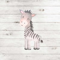 Watercolor Zebra Fine-Art Print
